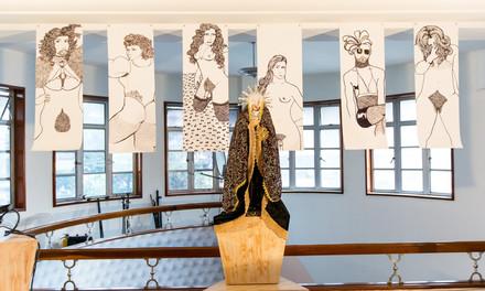 Art installation by Sergio Bedoya