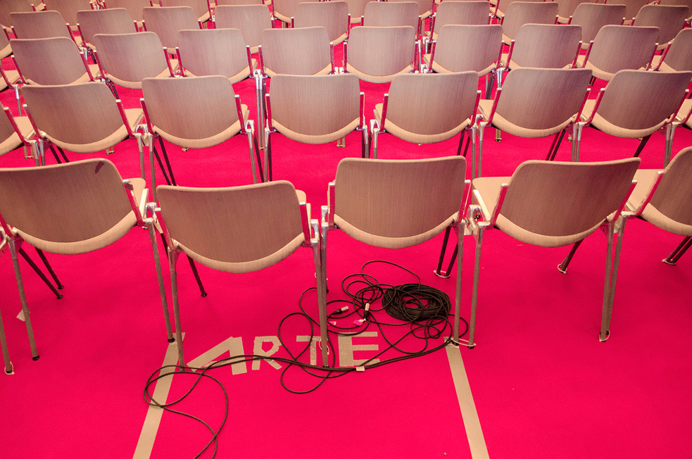 Coference room of the Berlin film festival