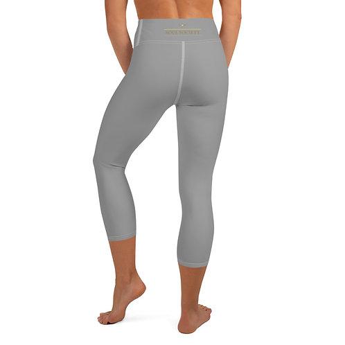 Soul Society Minimal Grey Capri Leggings
