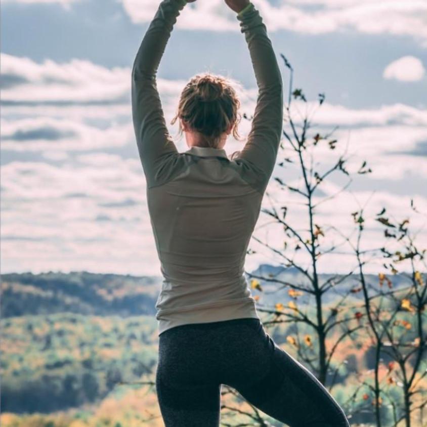 Yoga in the Vineyard at Flat Creek Winery