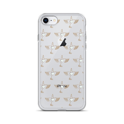 OG Peace Bird Print iPhone Case