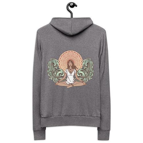 Yoga Girl Unisex Zip Hoodie