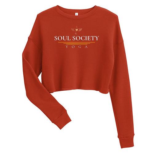 OT Peace Bird Ladies' Crop Sweatshirt