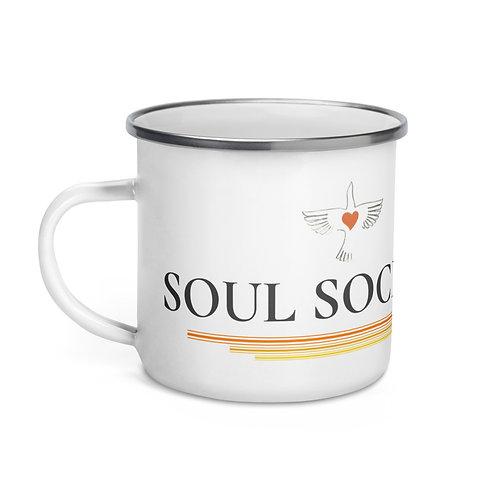 OT Peace Bird Enamel Mug