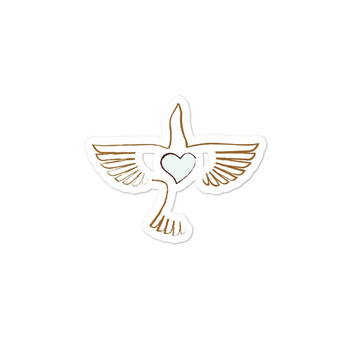 Peace Bird Sticker