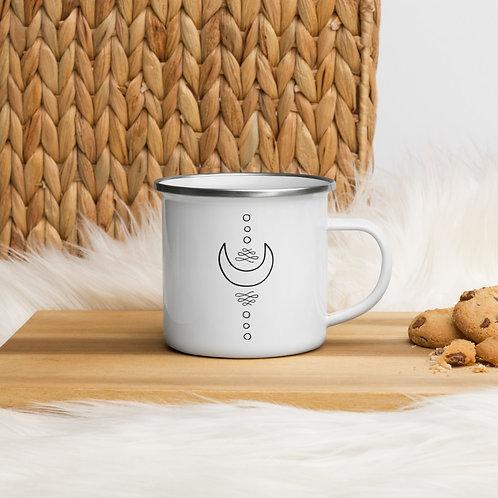 Celestial Collection Enamel Mug