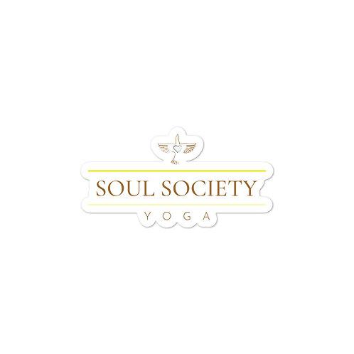 Soul Society Yoga Sticker