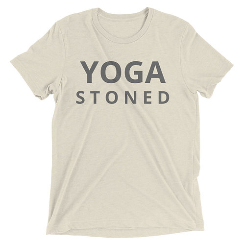 Yoga Stoned Unisex Short Sleeve t-shirt