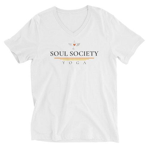 OT Peace Bird Unisex Short Sleeve V-Neck T-Shirt