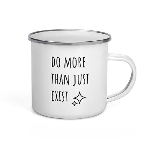 Do More Enamel Mug