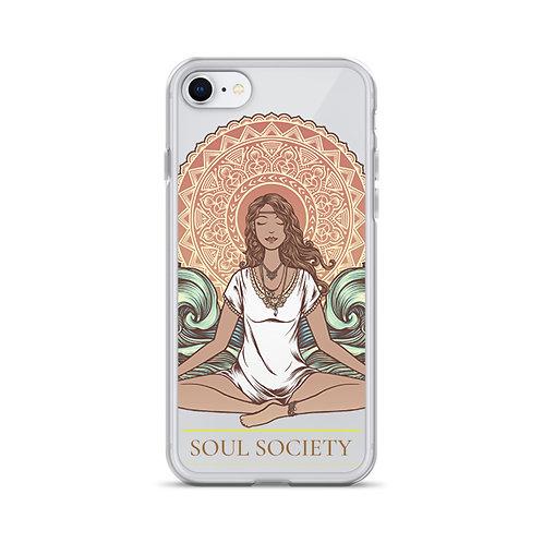 Yoga Girl iPhone Case