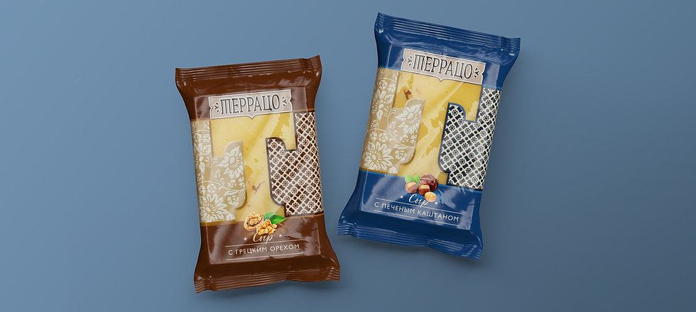 Дизайн упаковки сыра Брендинговое агентство Brand Brothers
