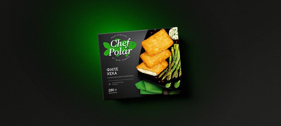Дизайн упаковки Chef Polar
