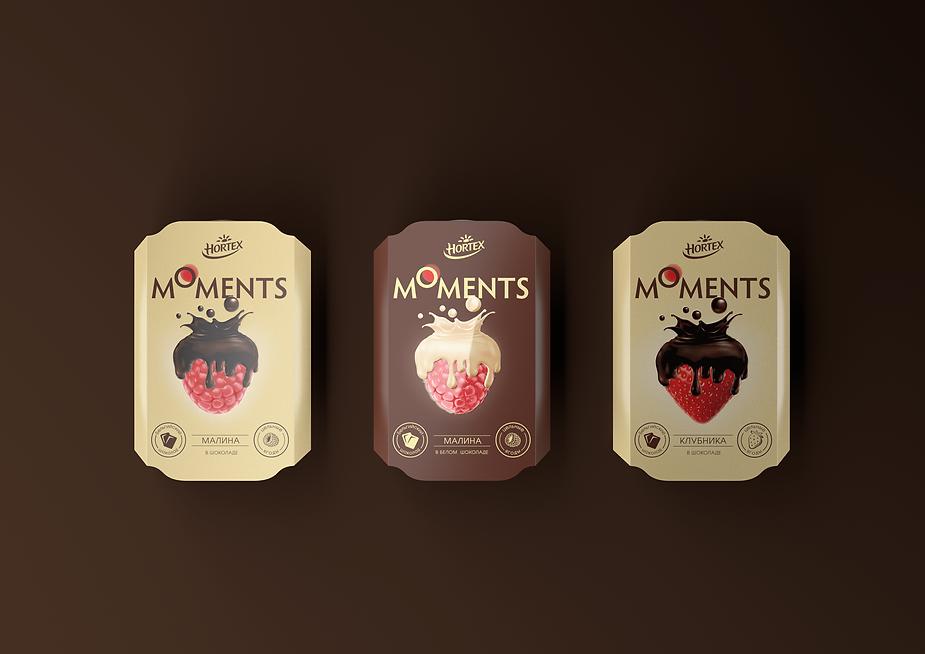 Дизайн упаковки десерта Hortex брендинговое агентство Brand Bothers