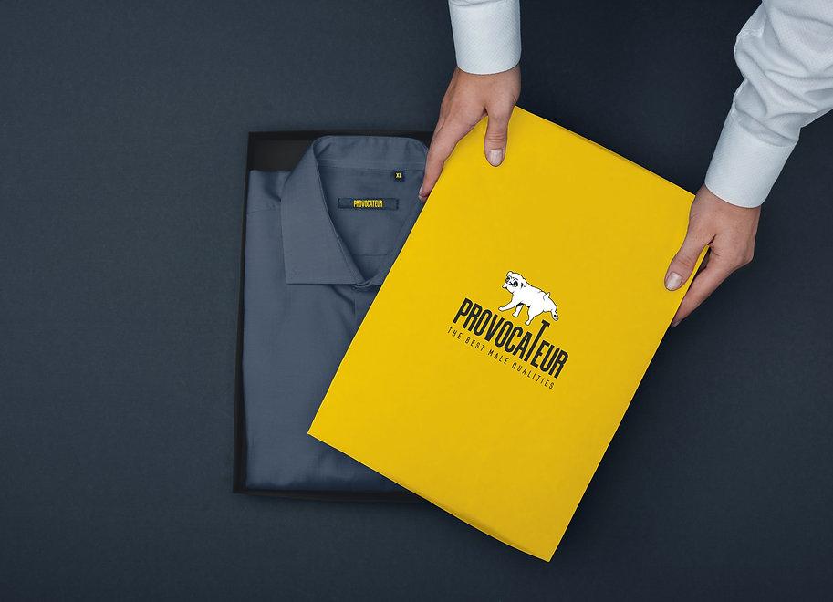 Создание бренда магазина одежды