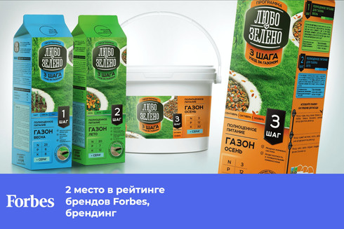 Любо-Зелено 3 шага