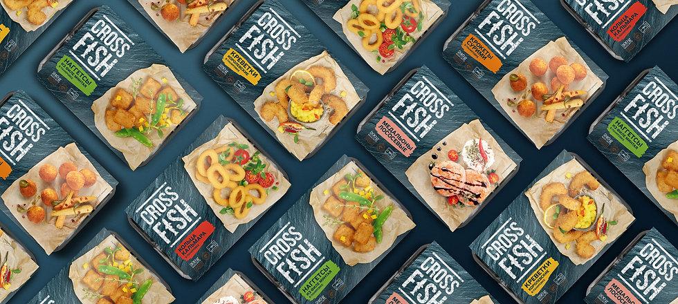 Cross Fish дизайн упаковки брендинговое агентство Brand Brothers
