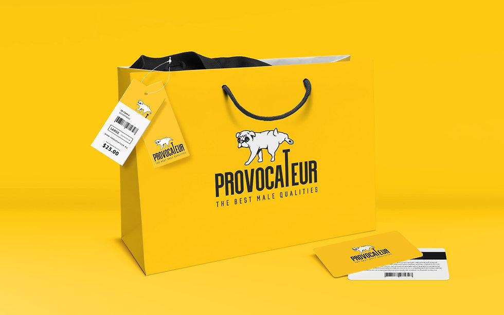 Создание бренда магазина Provocateur