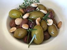 s-garlic, olive oil & herb marinated oli