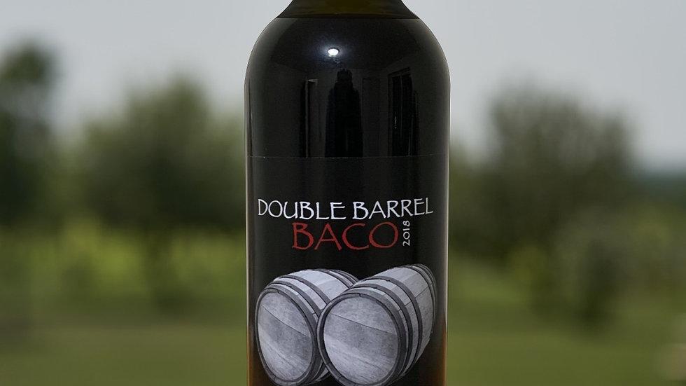 2018 Double Barrel Baco Noir