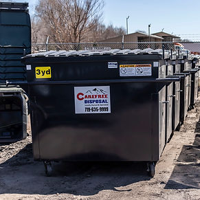 Commercial Dumpster 3 cubic yard