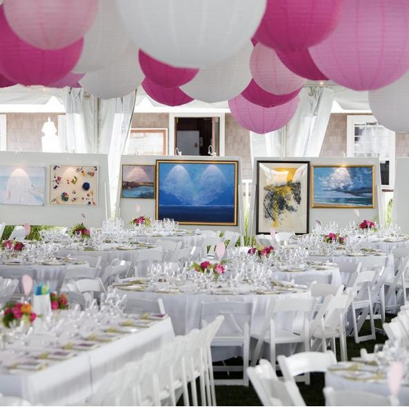 Puccini at Nantucket Artist's Association Wet Paint Gala