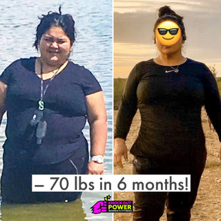 Weight Loss in less than a year!
