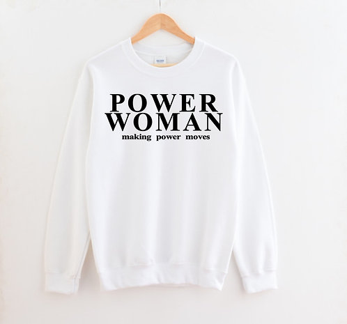 Power Woman Sweatshirt
