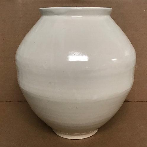 Vase with Zam 12 White Glaze