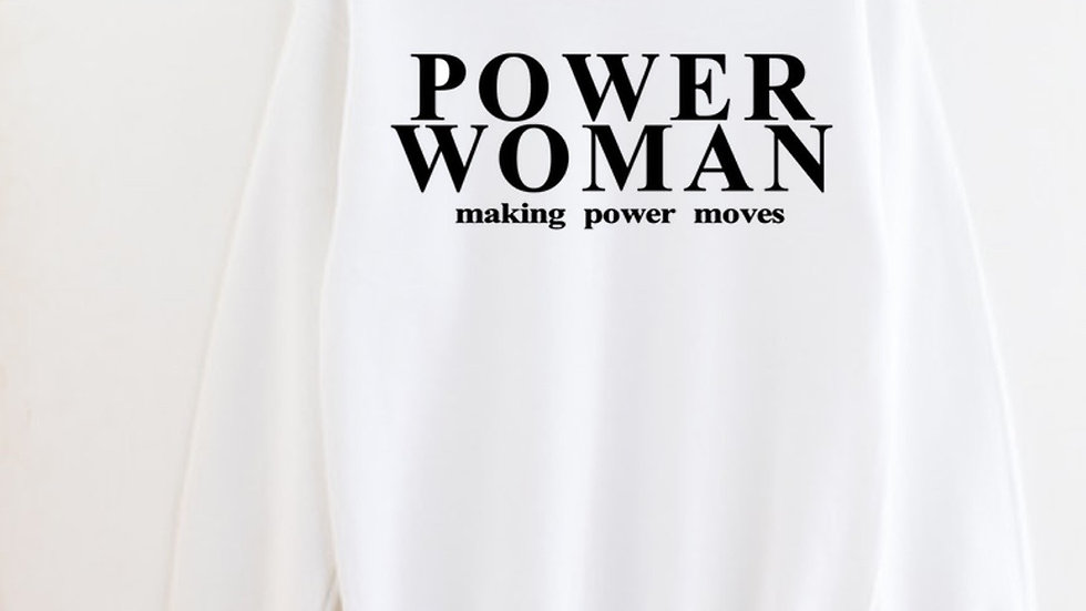 Power Woman Sweatshirt