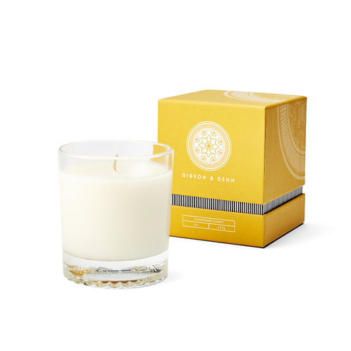 Gibson & Dehn Candle - Champagne Sorbet