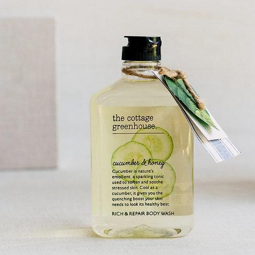 Cucumber & Honey Body Wash