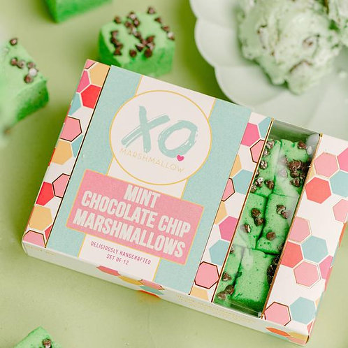 Mint Chocolate Chip Marshmallows