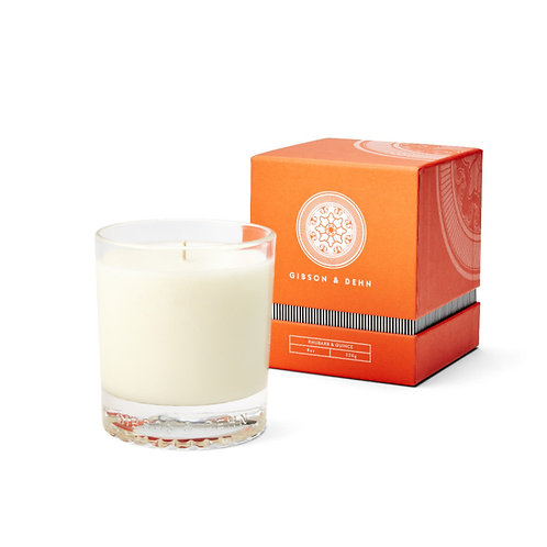 Gibson & Dehn Candle - Rhubarb & Quince