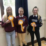 3rd place in the Area 11 quiz