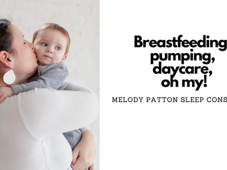 Breastfeeding, sleep training and returning to work!