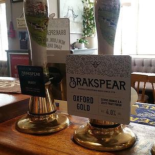 Brakspear Oxford Gold coming soon. #oxfo