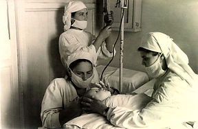 Больничные будни. 1952 год.