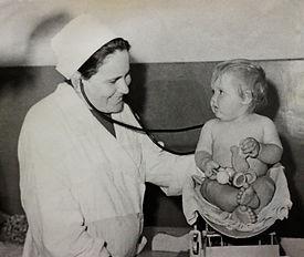 Круглая Зинаида Иосифовна (главный врач детской больницы с 1943 по 1986 год)