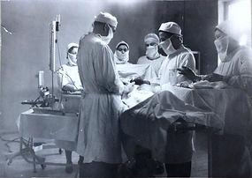 Операционная детской больницы в 1970-х годах