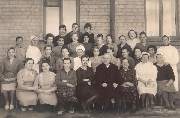 Коллектив больницы (1961 г.)