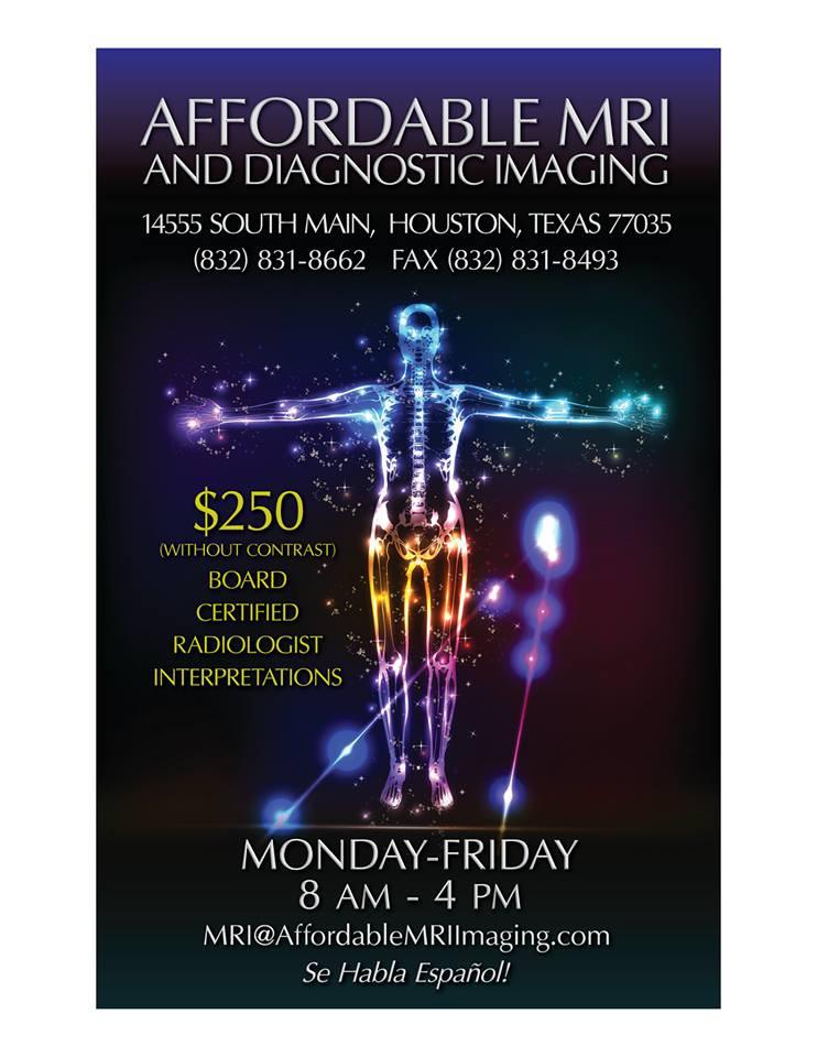 Affordable MRI | Houston