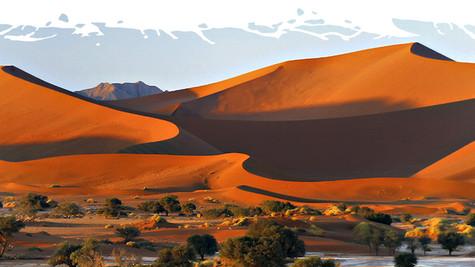 Romance guia leitor por uma viagem pela Namíbia
