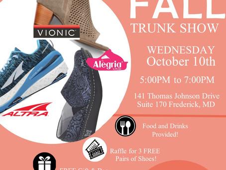 2018 Fall Trunk Show!