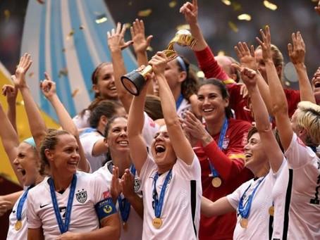 US Women's Soccer - World Champs