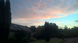 Dewsall Court Sunrise