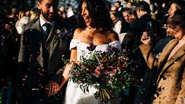 A Modern Winter Wedding