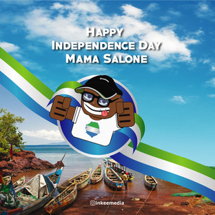 Happy Independence Day Sierra Leone from