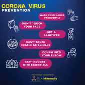 Corona Virus Flyer Inkeemedia + Think Af
