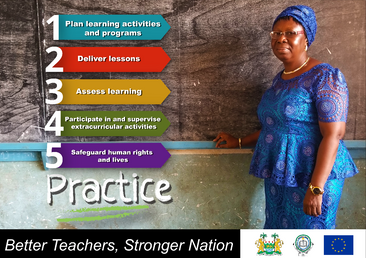 Poster design for the Teaching Service C